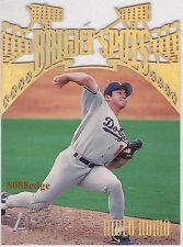 1996 TOPPS LASER BRIGHT SPOTS: HIDEO NOMO 野茂英雄 #B15 LOS ANGELES DODGERS JAPANESE