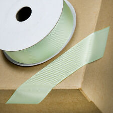 Mint Green Grosgrain Ribbon 10mm 16mm  25mm x 10m - Craft - Sewing Lanyard