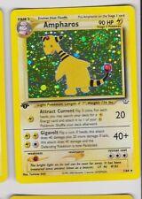Pokemon  Neo Revelation 1st Edition Set # 1/64 Ampharos holo card NM