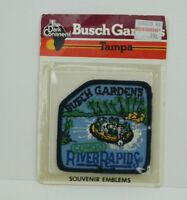 "Busch Gardens Tampa CONGO RIVER RAPIDS Souvenir Emblem Patch 3"" New Free Ship"