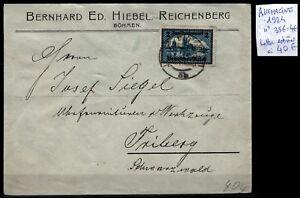 Timbre 356 sur Lettre de 1924 / Lot ALLEMAGNE