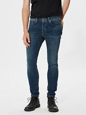 SELECTED Homme Skinny Pete 1004 Blue Jeans 28W / 32L BNWT