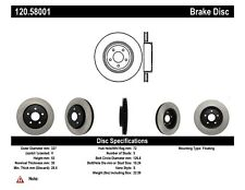 StopTech Disc Brake Premium Rotor for 2005-2010 Jeep Grand Cherokee / Commander
