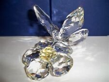 SWAROVSKI BUTTERFLY ON A FLOWER 0840190 RETIRED BNIB COA