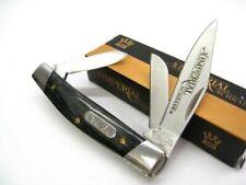 Schrade Imp16S Imperial Gray Swirl Stockman 3 Blade Folder Folding Pocket Knife