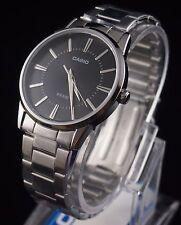 Casio Men Analog Dress Stainless Steel Black Watch MTP-1303D-1 100% Original New