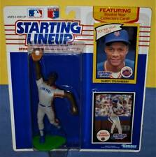 1990 Darryl Strawberry New York Mets NM *FREE s/h* fielding Starting Lineup 1983