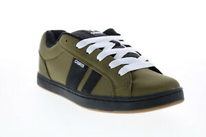 Osiris Loot 1282 2713 Mens Green Canvas Skate Inspired Sneakers Shoes