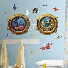RoomMates 54564 RM - Disney Findet Nemo Bullaugen Wandtattoo - 44 cm