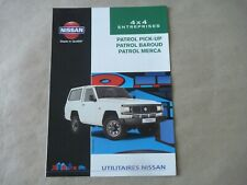 Arc aile arriere droit Nissan Patrol Baroud 160//260 1981-1994