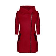 Womens Thicken Warm Winter Hooded Coat Zipper Parka Overcoat Jacket Outwear
