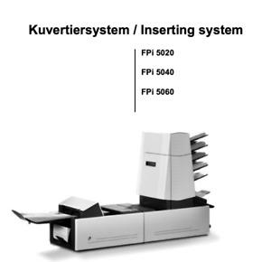 Francotyp Postalia FPI 5050 Falz- & Kuvertiermaschine Neopost Kuvertauswurf