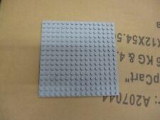 LEGO lungo grigio//grigio scuro Bluastro piastra di base//Large 16 x 6 Base di costruzione