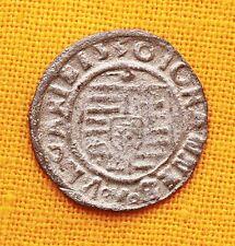 MEDIEVAL SILVER COIN - JOHAN SZAPOLYAI DENAR -1530. MADONNA, IB. RR