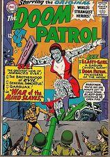 "DOOM PATROL #97 DC 08/65 NEGATIVE MAN ELASTI-GIRL ""WAR OF THE MIND SLAVES!"" FINE"