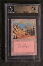 Mountain Arabian Nights Mtg Magic The Gathering BGS 9.5 MISLABELED