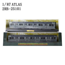 HO 1:87 ATLAS L'AUTOMTRICE 1953 2RB-25101 Locomotive Tram Train Model Collection
