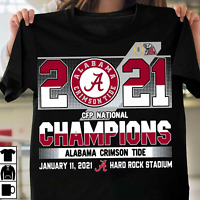 HOT!!! Alabama Crimson Tide National Championship 2021 College Football T Shirt