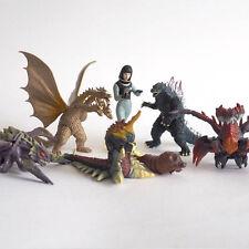 Bandai Capsule Toys Godzilla HG 7 - Complete set of 7, King Ghidorah,Megaguirus