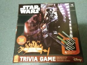 Disney...Star Wars Trivia Game...board game