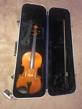 """Samuel Eastman 15"""" Viola Good Condition w Hard Carry Case & Bow"""