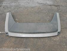 MERCEDES SL R129 1989 FOLDING CONVERTIBLE ROOF COVER PARCEL SHELF PANEL BLACK