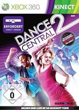 X-box 360 dancecentral 2 Kinect musica party gioco di ballo COREOGRAFIA Multi Player