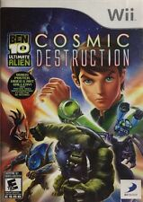 Nintendo Wii Ben 10 Ultimate Alien Cosmic Destruction Brand New Factory Sealed
