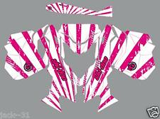 RACING SKI-DOO REV XM SUMMIT SNOWMOBILE SLED GRAPHIC KIT WRAP PINK 2013 2015