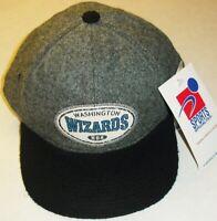 Washington Wizards Sports Specialties Vintage 90s Leather Strapback hat