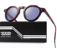 Venti Venti Sunglasses Acetate Frame UV400 Polarized Lens Unisex Black or Brown