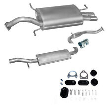 Exhaust Medium Pot Silencer Volvo S40 V40 2.0i since Year 02/1996 + Assembly Kit