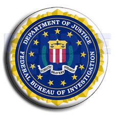 "FBI Seal Button Badge 2¼"" - 58mm"