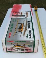 "RC Balsa Kit - Pilot - De Havilland Tiger Moth - Bi-Plane Kit - Wing 45.5"""