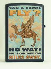 CAMEL ZIPPO  CAMEL  MILD CAN A CAMEL FLY  PACK LIGHTER, NAVY BLUE CZ# XXX