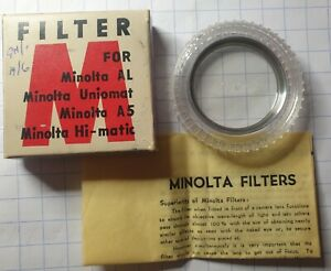 MINOLTA UV FILTER 40.5mm F40.5NA