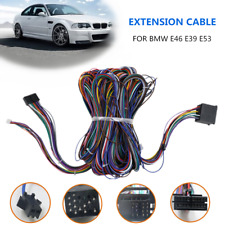 6m EXTENSION CABLE KIT FIT FOR BMW E46 E39 E53 BM24 RADIO  Wiring Harnesses Part