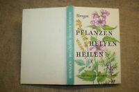 Fachbuch Heilpflanzen, Kräuter, Arzneipflanzen, sammeln, verwenden, DDR 1975