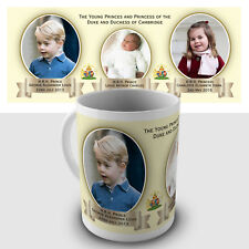Young Princes and a Princess Gift Mug - The Duke & Duchess of Cambridge children