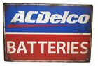 ACDelco Batteries - Garage Shop Tin Sign Reproduction A69 - Free Shipping