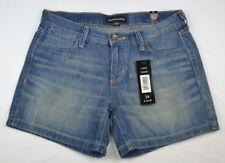 George & Martha Womens Jean Shorts Light Stone Denim Diane Size 34 NWT NEW L4343