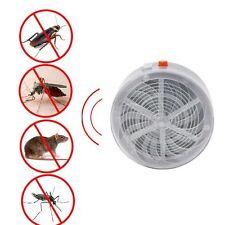 Fly Insect Bug Mosquito Solar Buzz Kill Zapper Killer UV Light Camp Home Kitchen