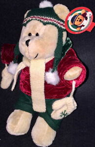 STARBUCKS 2005 CHRISTMAS Costume 42nd BEARista BEAR Collection TEDDY BEAR Plush