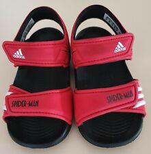 Adidas Sandal Junior Akwah Spider Man Black/Red Mod. B40818 UK 6K FR 23