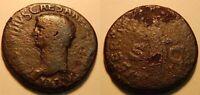 Römische Kaiserzeit / Claudius As mit Rückseitendarstellung Libertas Augusta