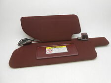 New OEM Sun Visor Lincoln Towncar 1996-1997 With Homelink Left Cordovan Red