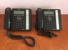 Lot of 2 LG IPECS Lip-8024e Gigabit IP Phone with stand