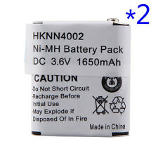 2 x 1650mAh Ni-Mh KEBT-071-A KEBT-071-D Battery For MOTOROLA Talkabout Radio