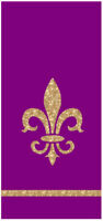 Fleur de Lis French Lilly Kitchen Towels by Kay Dee Designs Yellow Mardi Gras