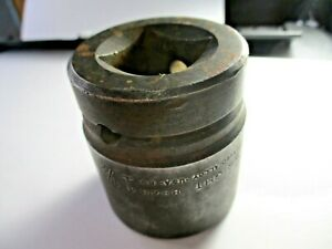 """Wright 1"""" Drive 6 Point SAE 1-1/2"""" Shallow Impact Socket Forged Alloy USA"""